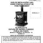 alderlea estufa pacific energy negra