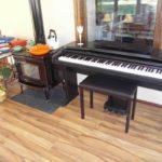 pacific energy 2 estufa de leña piano