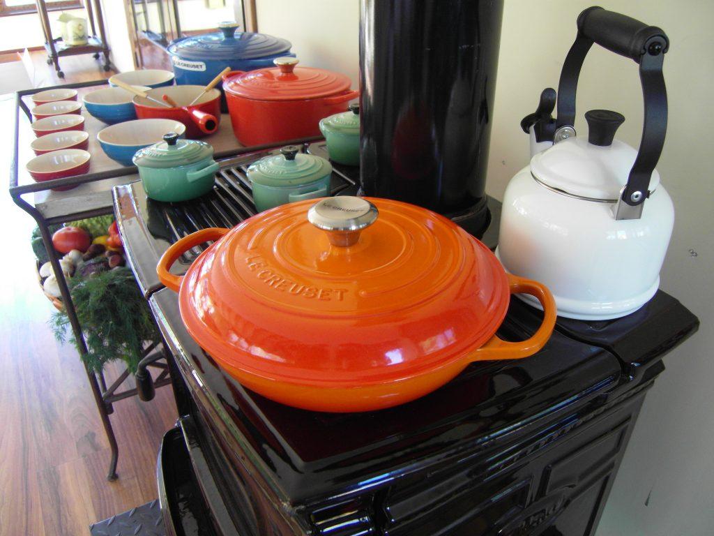 cocina estufa pacific energy negra 2