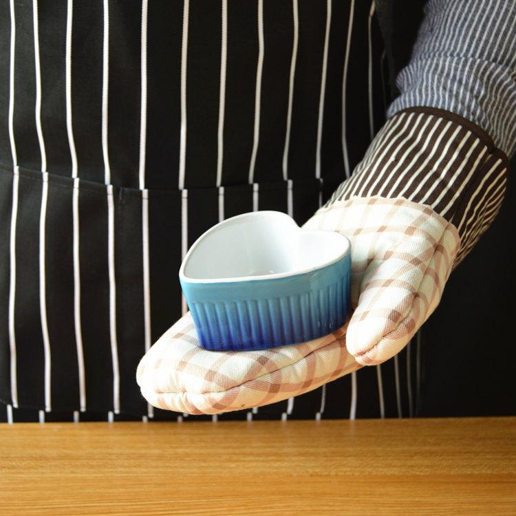 taza azul corazon